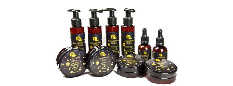 Cosmetici a base di bava di lumaca