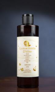 olio massaggio argan